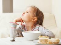 crianças que não comem
